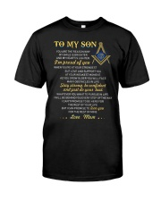 Freemason Reason My Smile Brighter Son Mom Classic T-Shirt tile