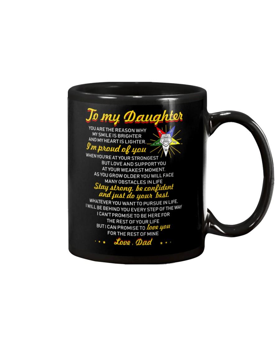 Freemason Reason My Smile Brighter Daughter Dad Mug