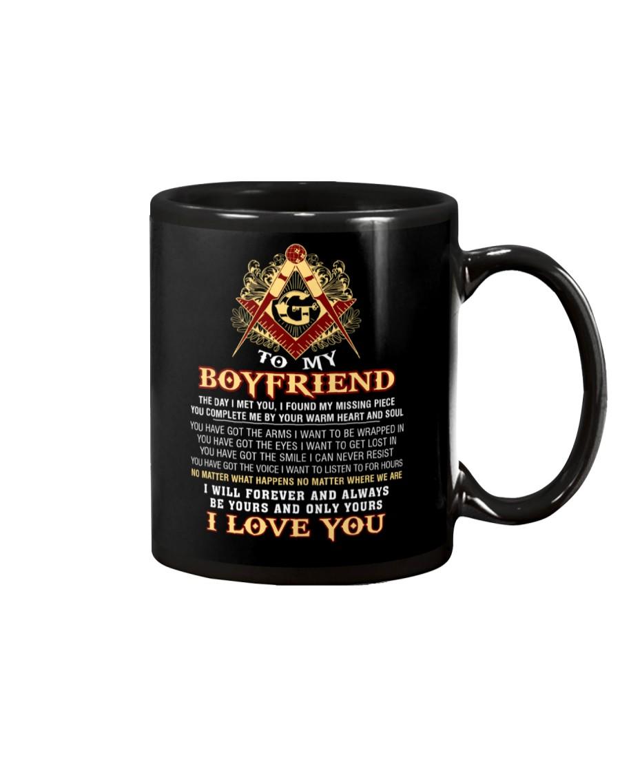 Freemason Boyfriend Your Warm Heart And Soul Mug