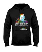 Unicorn LGBT Dear Boyfriend Mug Hooded Sweatshirt thumbnail