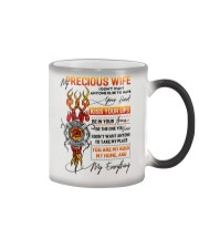 Firefighter Wife Don't Want Anyone Else Color Changing Mug thumbnail