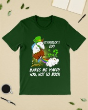 Patrick's day Unicorn make me happy shirt Classic T-Shirt lifestyle-mens-crewneck-front-19