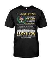 Freemason Girlfriend Clock Ability Moon Classic T-Shirt thumbnail