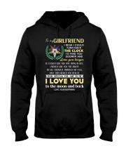 Freemason Girlfriend Clock Ability Moon Hooded Sweatshirt thumbnail
