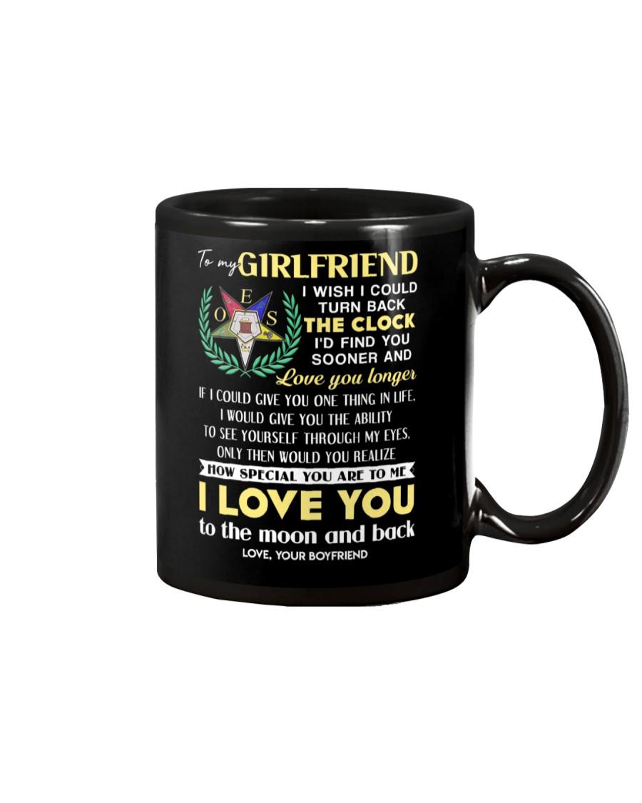 Freemason Girlfriend Clock Ability Moon Mug