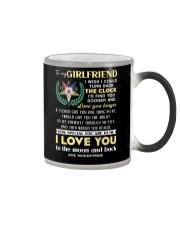 Freemason Girlfriend Clock Ability Moon Color Changing Mug thumbnail