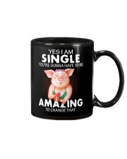 Farmer Pig single  Mug thumbnail