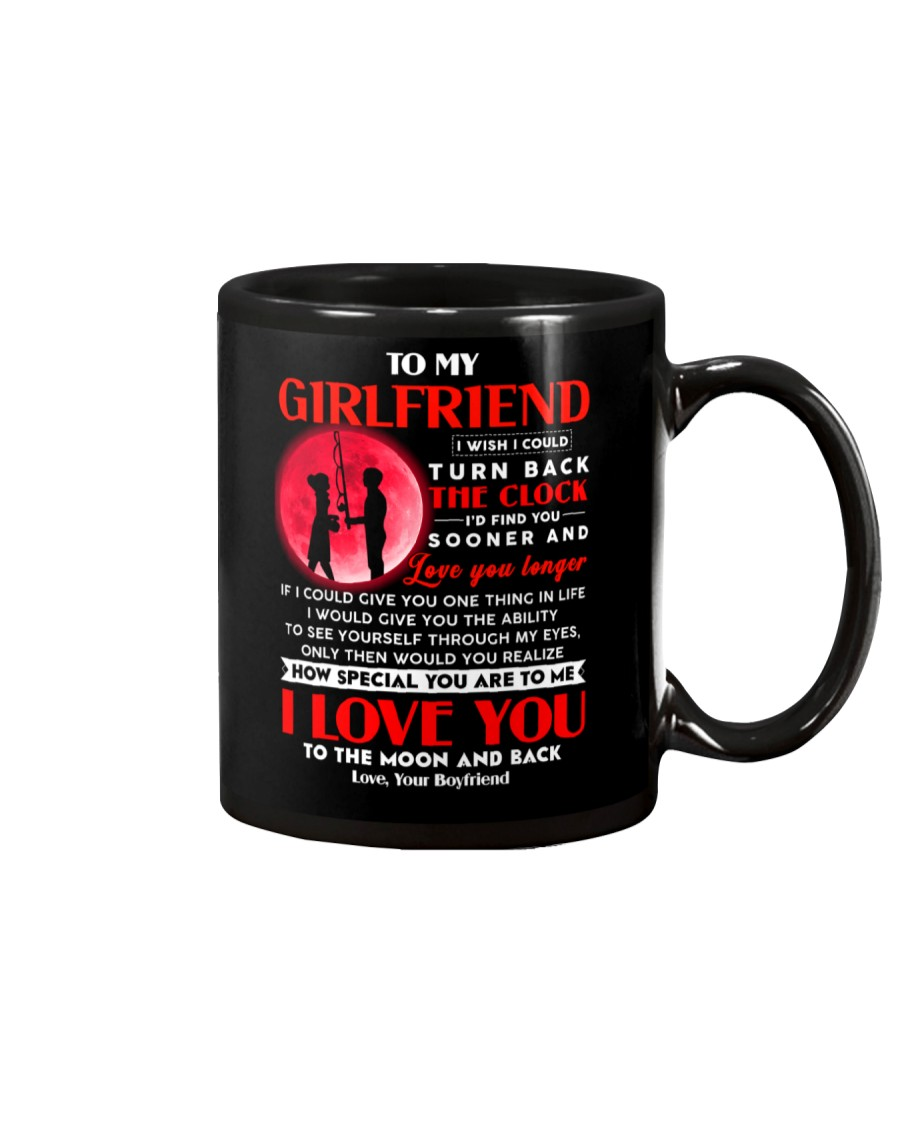 Fishing Girlfriend Clock Ability Moon Mug