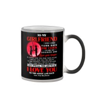 Fishing Girlfriend Clock Ability Moon Color Changing Mug thumbnail