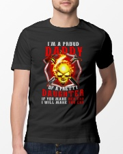 Firefighter Proud Daddy T-shirt Classic T-Shirt lifestyle-mens-crewneck-front-13