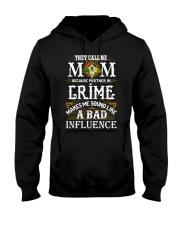 Freemason OES Mom Partner In Crime Hooded Sweatshirt thumbnail