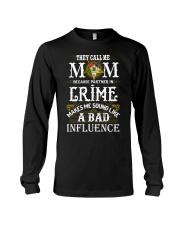 Freemason OES Mom Partner In Crime Long Sleeve Tee thumbnail