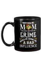 Freemason OES Mom Partner In Crime Mug back