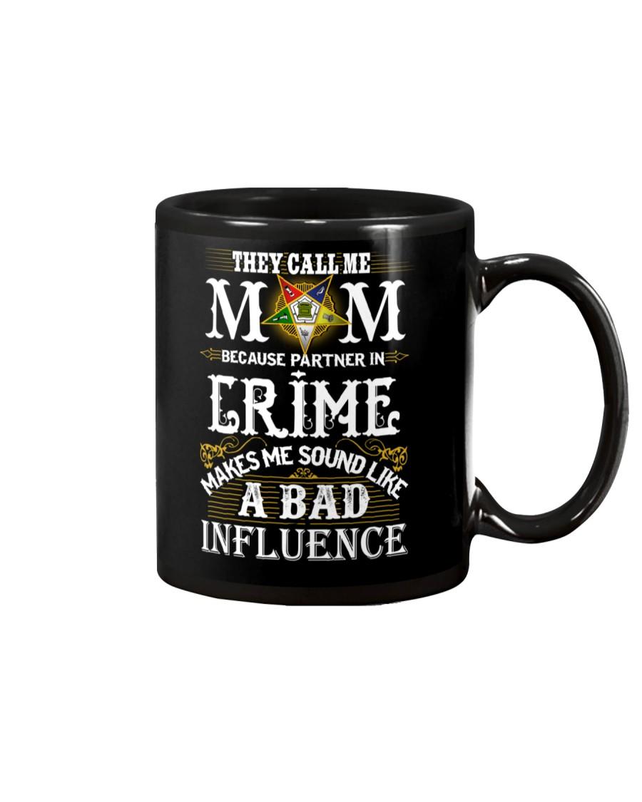 Freemason OES Mom Partner In Crime Mug