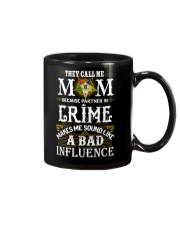 Freemason OES Mom Partner In Crime Mug front