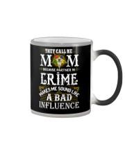 Freemason OES Mom Partner In Crime Color Changing Mug thumbnail