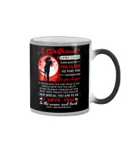 Family Girlfriend The Clock The Moon Color Changing Mug thumbnail