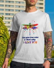 I see your true color Classic T-Shirt lifestyle-mens-crewneck-front-8