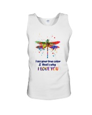 I see your true color Unisex Tank thumbnail