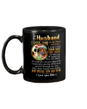 Turn Back The Clock See Yourself Through Eyes Mug back
