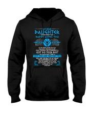 Viking Dad Daughter Stay Strong Hooded Sweatshirt thumbnail