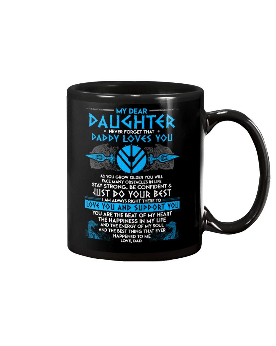 Viking Dad Daughter Stay Strong Mug