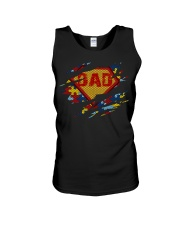 Autism Daddy Is My Favorite Name Unisex Tank thumbnail