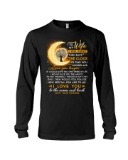 Reading Wife Clock Ability Moon Long Sleeve Tee thumbnail