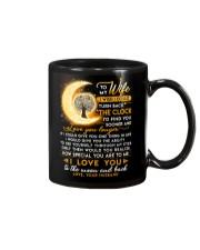 Reading Wife Clock Ability Moon Mug front