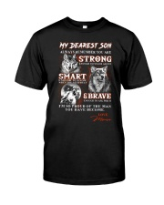Wofl Mom to Son Always Remember Classic T-Shirt thumbnail