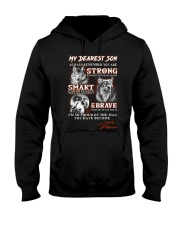 Wofl Mom to Son Always Remember Hooded Sweatshirt thumbnail