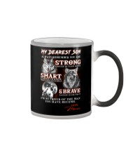 Wofl Mom to Son Always Remember Color Changing Mug thumbnail
