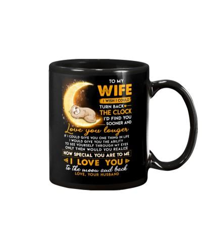 Sloth Wife Clock Ability Moon