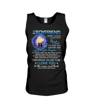 Cat Boyfriend Clock Ability Moon Unisex Tank thumbnail