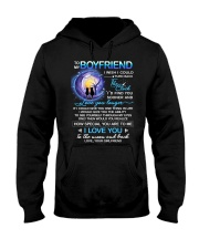 Cat Boyfriend Clock Ability Moon Hooded Sweatshirt thumbnail