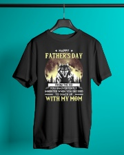 Father's Day Inherited Wolf  Classic T-Shirt lifestyle-mens-crewneck-front-3