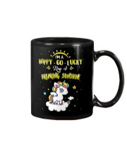 Unicorn Happy Go Lucky  Mug thumbnail