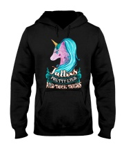 Unicorn Tattoos Hooded Sweatshirt thumbnail