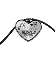 Unicorn You Are My Life Wife Cord Heart Necklace thumbnail