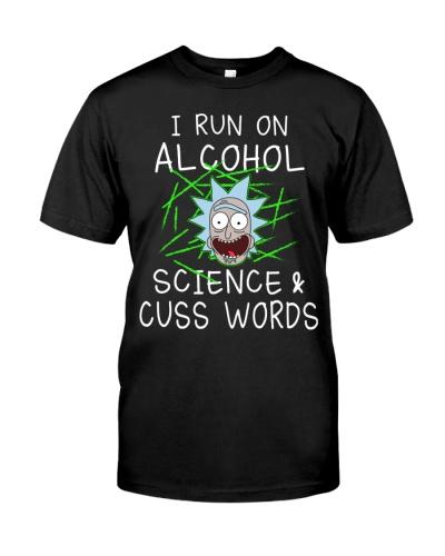Rick runs on 3 things