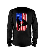 Fishing American flag Long Sleeve Tee thumbnail