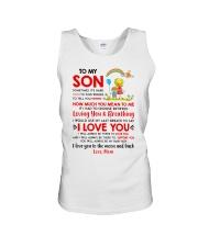 Family Son Mom Breathing Support Moon Unisex Tank thumbnail