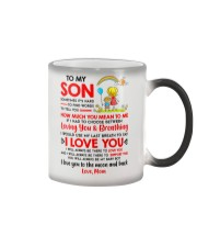 Family Son Mom Breathing Support Moon Color Changing Mug thumbnail