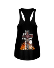 Firefighter Do All Things Through Christ Shirt Ladies Flowy Tank thumbnail