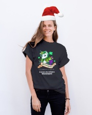 A Person Who Instigates  Classic T-Shirt lifestyle-holiday-crewneck-front-1