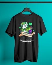 A Person Who Instigates  Classic T-Shirt lifestyle-mens-crewneck-front-3