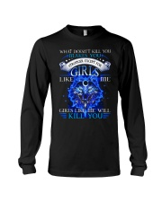 Girl Like Me Will Kill You Wolf Long Sleeve Tee thumbnail