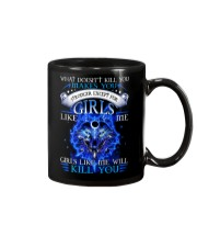 Girl Like Me Will Kill You Wolf Mug thumbnail