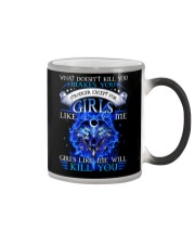 Girl Like Me Will Kill You Wolf Color Changing Mug thumbnail