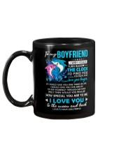 Shark Boyfriend Clock Ability Moon Mug back